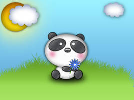 Panda Without... by z-dark