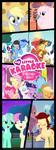 My Little Karaoke: Singing is Magic Kakemono by FloppyChiptunes