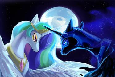 The Stars Will Aid Her Escape by maocha