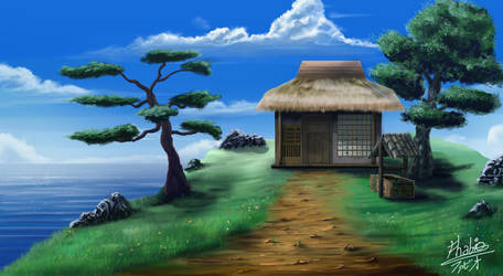 Urashima Tarou's House by Fhabio
