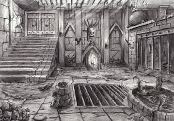 Dungeon by Fhabio