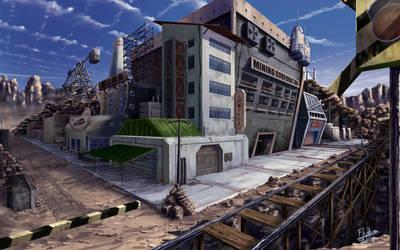 Mining City by Fhabio