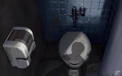 Toilet by Fhabio