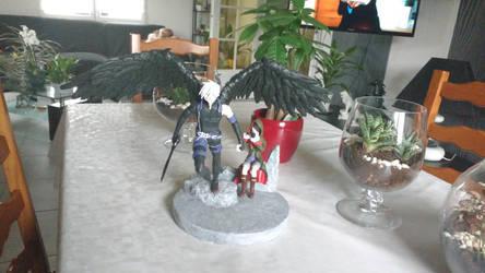 Figurine Shingeki no Bahamut - Azazel et Mugaro by GokuCreations