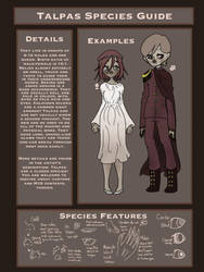 -Closed Species-  Talpas Species Guide  by MacMacaroni