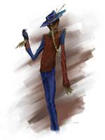 Scarecrow by ravenofsorrows