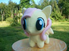 Fluttershy Chibi Pony MLP FIM by happybunny86
