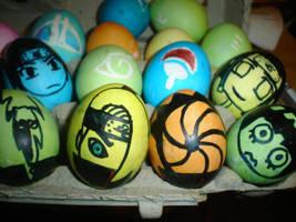 Naruto eggs by LazyPandas