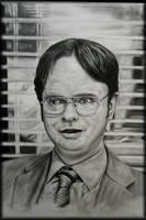 Dwight Schrute-Beet Farmer by crunchwing