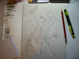 Contest Entry WIP by ArtTreasure