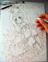 Sailor Moon WIP by ArtTreasure