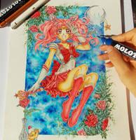 Sailor Chibi Moon by ArtTreasure