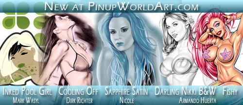 New at Pinup World Art 1-24-09 by PinUp-World-Art