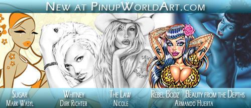 New PinupWorldArt.com 2-04-09 by PinUp-World-Art