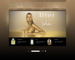 E-shop layout by PitPistolet