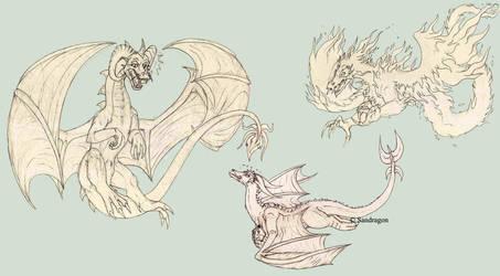 Zaleeda fly away by Sandragon