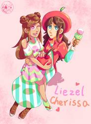 Liezel and Cherissa by Momoko-Sara-Hoshino