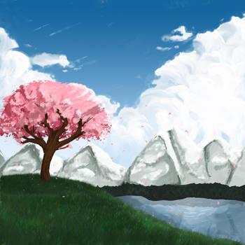 Cherry Blossom by MustardPocky