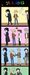 BBC Sherlock - Birthday by Dyamirity