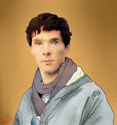 Benedict Cumberbatch by Dyamirity