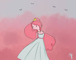 Princess Bubblegum by Rosita-Pink