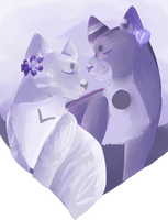 Roses are Red, Violets are Blue by Cardemon