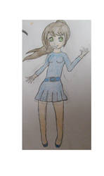 Random Girl by aerogrrl02