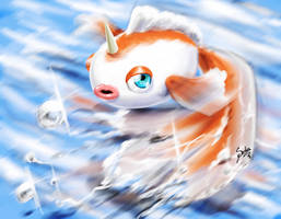 goldeen by Zeablast
