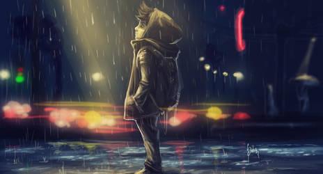 rain by Zeablast