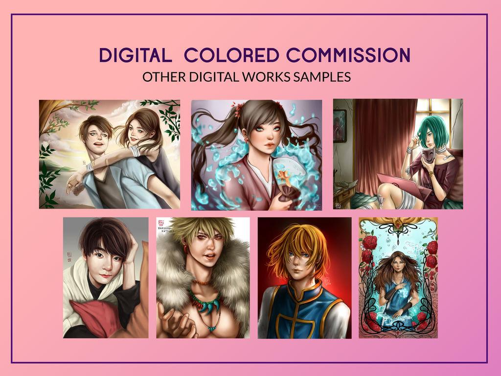 COMMISH digi other samples by AkaReikou