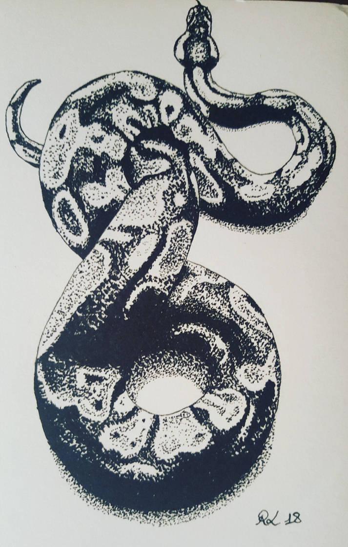 Python by Rocksane-Art