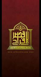 AFRAH PALACE HALL LOGO by LonelyZone