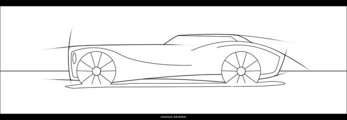 car sketch by LonelyZone