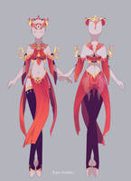Outfit Commission front and back by Epic-Soldier