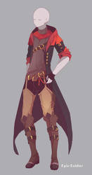 Custom outfit commission 86 by Epic-Soldier
