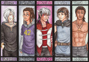 Commission Bookmarks 10 by Lienwyn