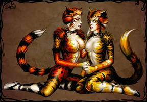 Bombalurina and Demeter by Candra