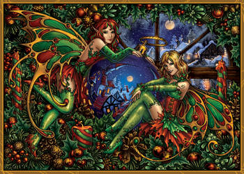 Christmas Fantasy by Candra