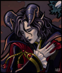 Mephistopheles - close-up by Candra