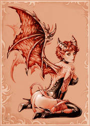 Demoness by Candra