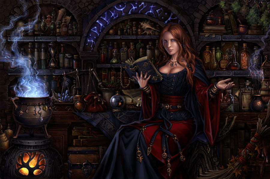 Magic Shop by Candra