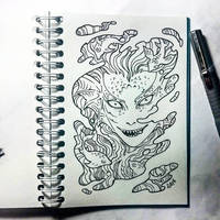 Instaart - Grindylow by Candra