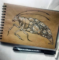 Instaart - Caddisfly by Candra