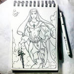 Instaart - Sister Simone Du Lac by Candra
