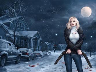 The vampire by Candra