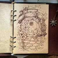 Instaart - Door in Hobbit's home. by Candra