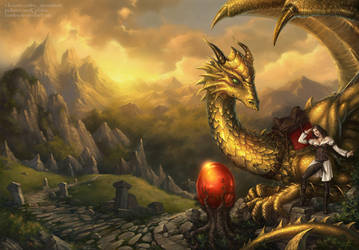 Mark of the Dragon by Candra