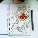 Instaart - Sailor Moon (NSFW on Patreon) by Candra