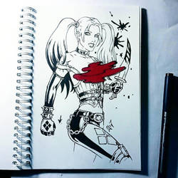 Instaart - Harley Quinn (NSFW on Patreon) by Candra