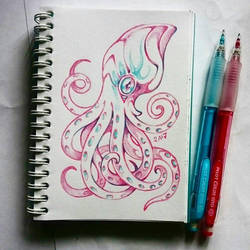 Instaart - Octopus by Candra